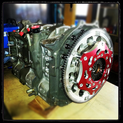 "7.25"" inch billet racing clutch built by Direct Clutch In Brisbane"